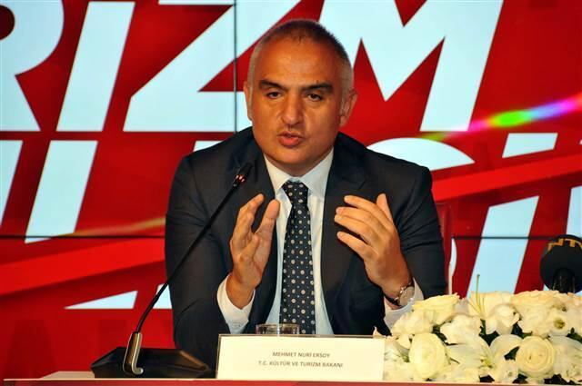 Bakan Ersoy: Turizmde Türkiye rekoru kırılacak
