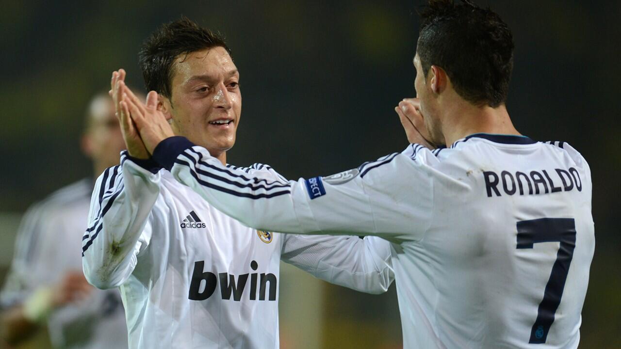 Mesut Özil'den bomba açıklamalar: Ronaldo...