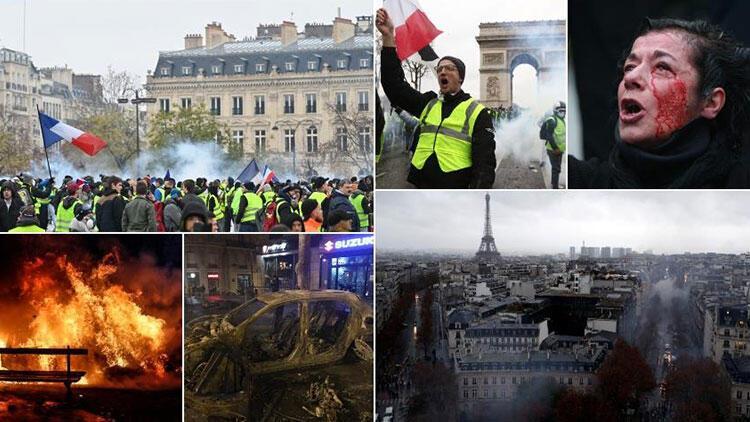 Fransada işverenlerin çoğu sarı yeleklileri destekliyor 78