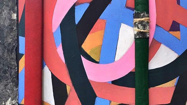 """ Bubi Khemet'e Dönüş"" sergisi Galeri Kambur Sanat Galerisi'nde"