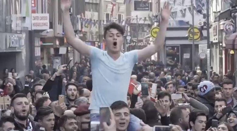 Trabzonspor'dan zirve paylaşımı