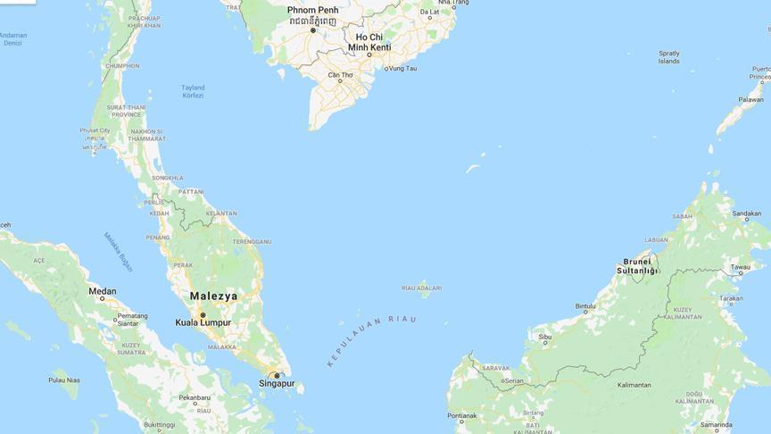 Malezya'da yük gemisinde patlama