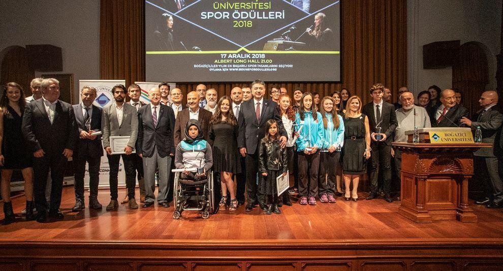 Boğaziçi Üniversitesi Spor Ödülleri sahiplerini buldu