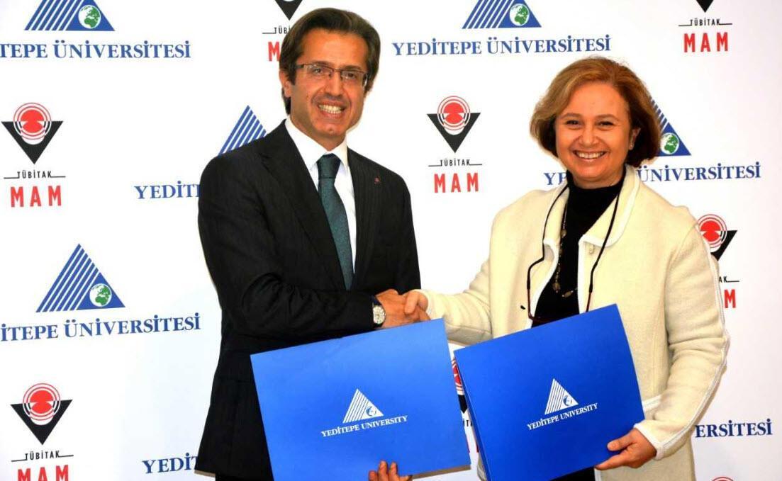 Yeditepe Üniversitesi ve TÜBİTAK MAM'dan iş birliği