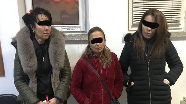 Aynı evde yakalandılar! 3'ü kadın 18 kişiye fuhuş baskını!