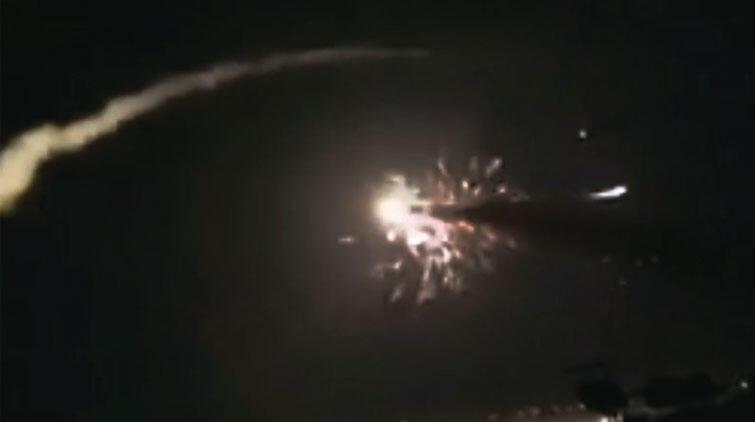 İsrail Şam ı Lübnan dan vurmuş
