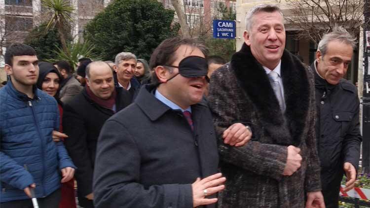 Metin Şentürk 'Beyaz Baston' etkinliğine katıldı