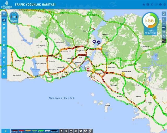 İstanbul'da 'karne' yoğunluğu! Trafik durma noktasında
