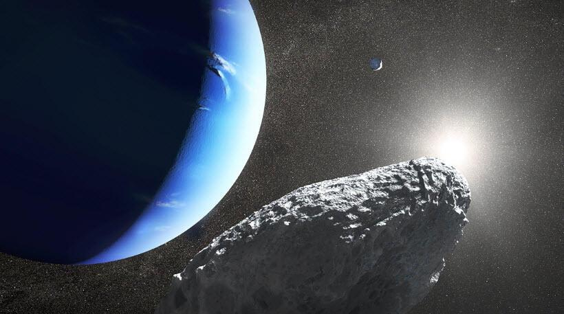 Neptün'ün yeni keşfedilen uydusu başka uydudan kopmuş olabilir
