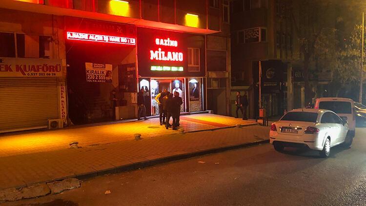 Ankara'da gece kulübünde kavga