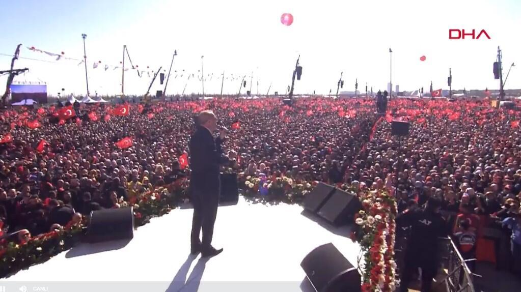 Son dakika! Cumhurbaşkanı Erdoğan'dan Yenikapı'da önemli açıklamalar