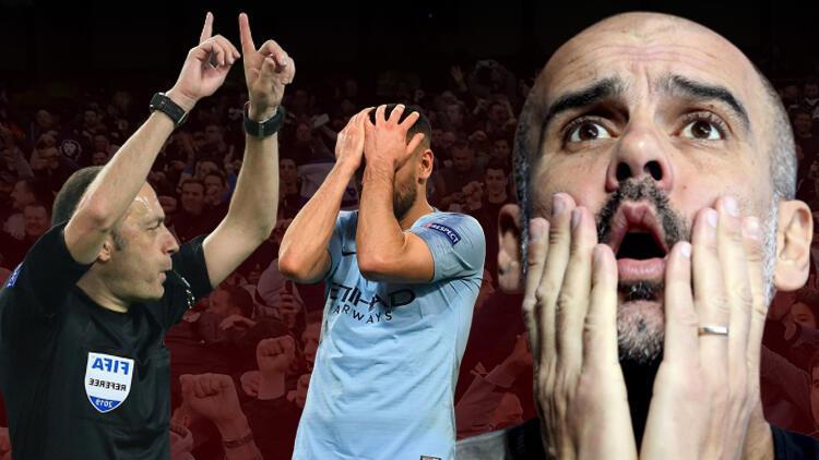 Cüneyt Çakır'ın kararı Guardiola'yı yıktı!.. Kimse inanamadı...