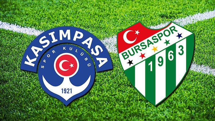 Kasımpaşa - Bursaspor