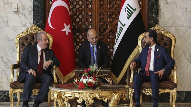 TBMM Başkanı Şentop: Irak'tan beklentimiz PKK unsurlarına barınma imkanı vermemesi