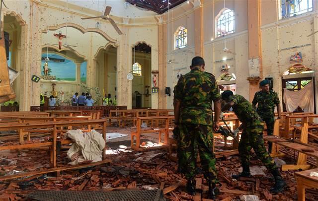 Sri Lanka'da 35 yabancı uyruklu kişi yaşamını yitirdi