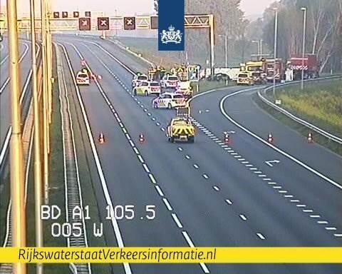 Hollanda'da trafik kazası