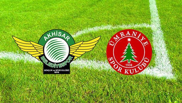 Akhisarspor Ümraniyespor maçı ne zaman saat kaçta ve hangi kanalda?