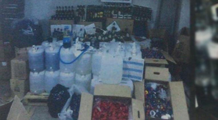 Ankara'da 'sahte içki' operasyonu: 10 gözaltı
