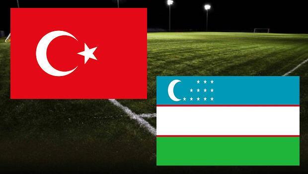 Türkiye Özbekistan maçı ne zaman saat kaçta hangi kanalda?