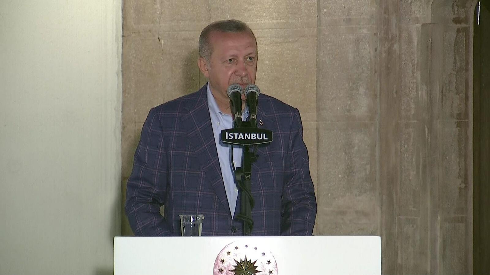Cumhurbaşkanı Erdoğan net konuştu: O dosya bizim için kapanmıştır.