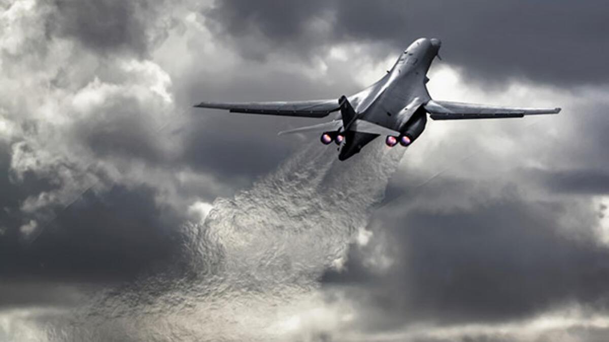 ABD bombardıman uçakları Kore Yarımadası üzerinde uçtu