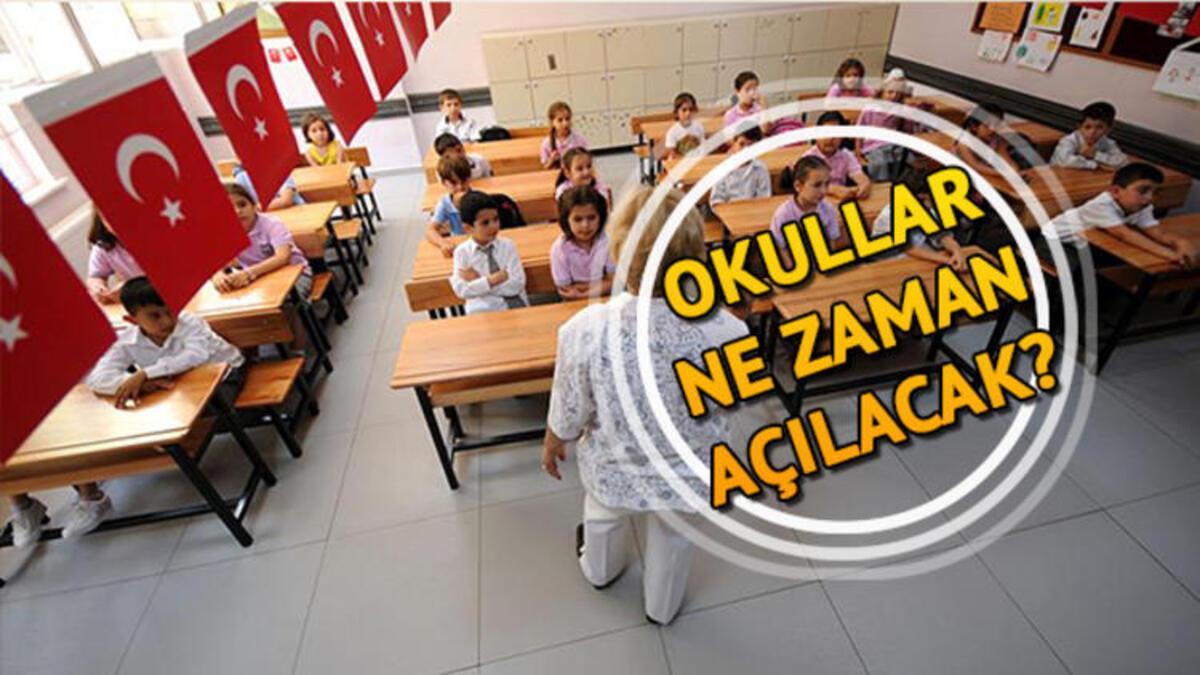 MEB açıkladı 15 Tatil ne zaman bitecek Okullar ne zaman açılacak 62