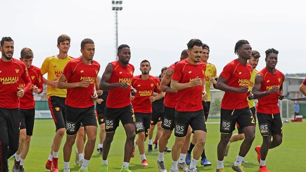 Göztepe, MKE Ankaragücü maçı hazırlıklarına başladı