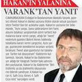 Ava giderken avlanan danışman: Varank