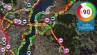 İstanbul'da trafik yoğunluğu yüzde 90'a çıktı