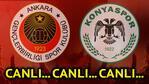 Ankarada ilk gol erken geldi