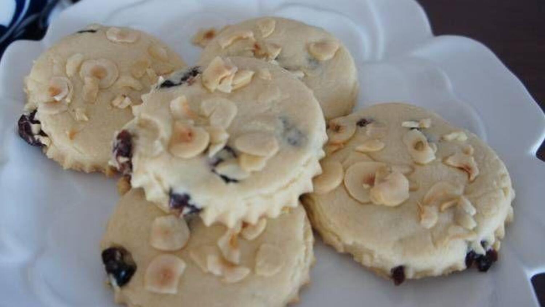 Yaban mersinli kurabiye tarifi