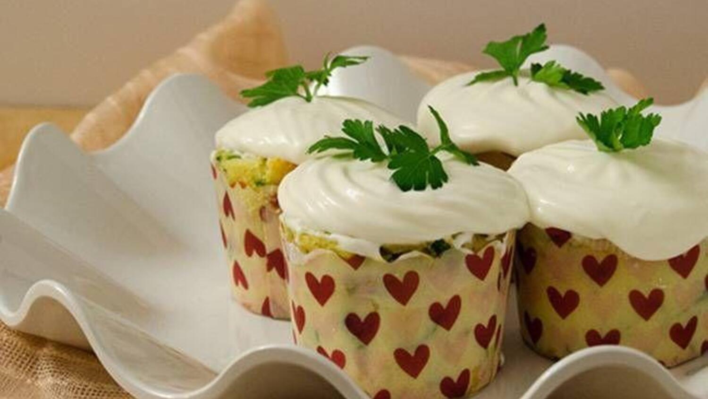 Peynirli Ispanaklı Muffin Tarifi