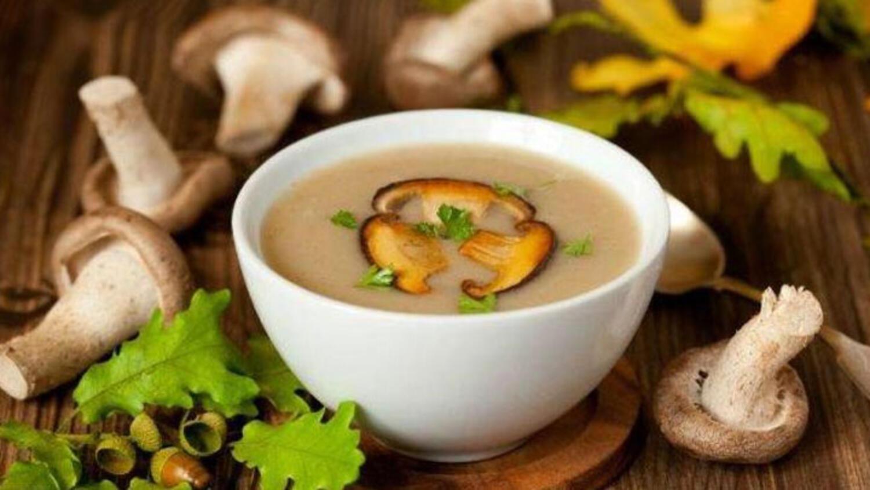 Mantarlı lezzetli bir mantar çorbası nasıl pişirilir