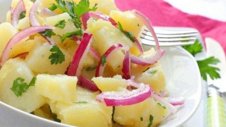 Diyet Patates Salatası Tarifi