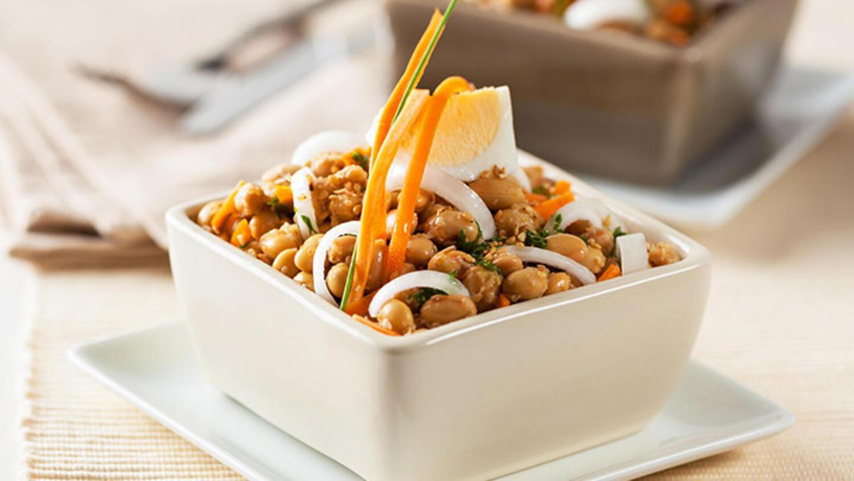 Soya fasulyesi yemeği