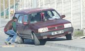 Kural tanımaz sürücülere kapan bile engel olamıyor