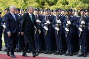 Cumhurbaşkanı Erdoğana Almanyada resmi karşılama