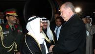 Cumhurbaşkanı Erdoğan, havalimanında karşıladı