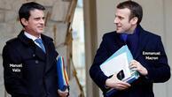 Eski Başbakan Valls'ten Macron'a destek