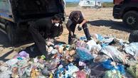 Telefon geldi, 5 ton çöpü didik didik aradılar