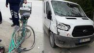 Düzcede kamyonetin çarptığı bisikletli öldü