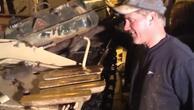 Külüstür tanktan külçe altın buldu O anlar böyle ortaya çıktı