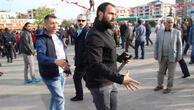 HDP mitinginde satırlı saldırı girişimini polis engelledi