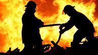 Karakolda yangın: 14 asker dumandan etkilendi