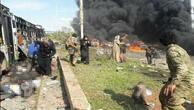 Son dakika... Suriyede otobüs konvoyunda patlama