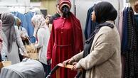 Londralı Müslümanlar için yaşam tarzı fuar