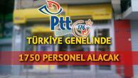 PTT personel alımı başvuruları nasıl yapılacak PTT personel alımı başvuru şartları neler