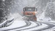 Almanya'da nisan ayında kar sürprizi