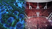İşte Galatasarayın yeni mabedi