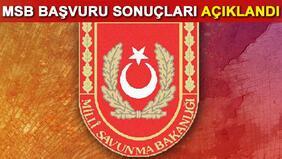 Milli Savunma Bakanlığı (MSB) sivil memur alımı sonuçları açıklandı